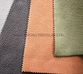 Polyester suede fake leather sofa fabric