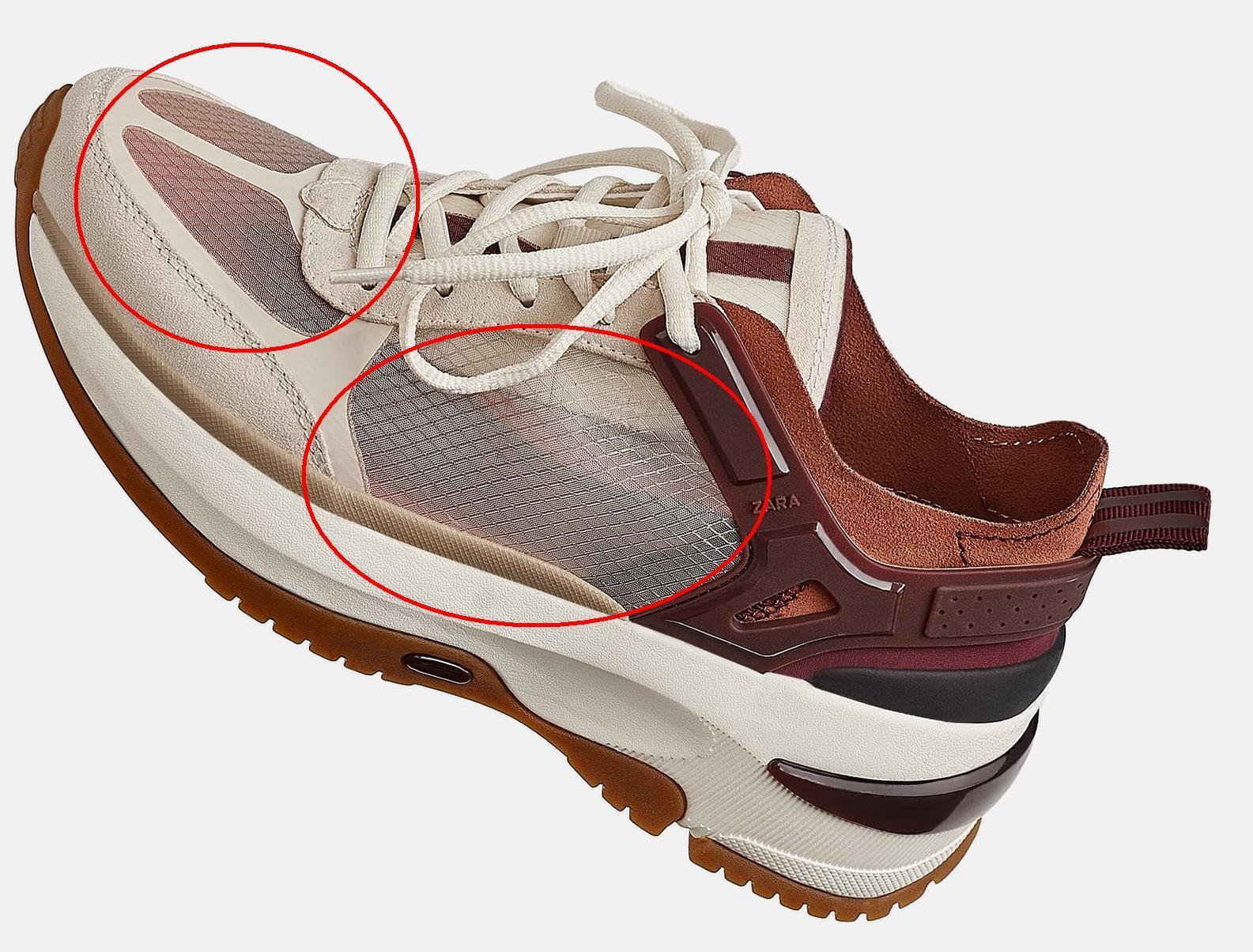 Mono mesh shoe lining mesh 2