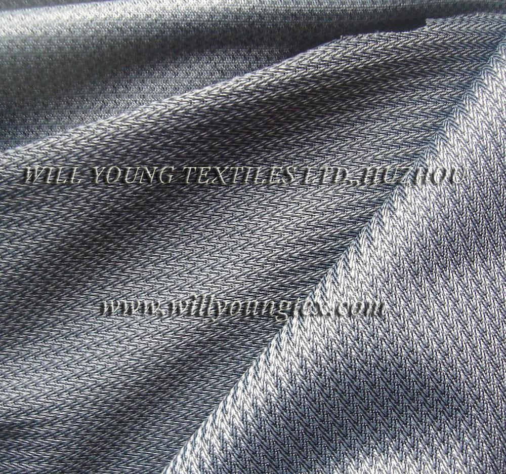 Bicolor tricot for shoe lining 1