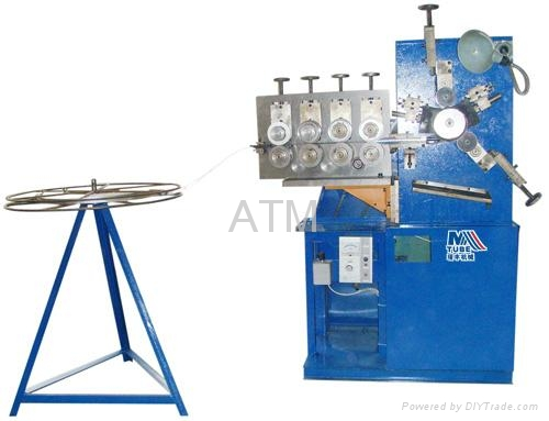 Stainless Steel Flexible Exhaust Pipe Making Machine 1