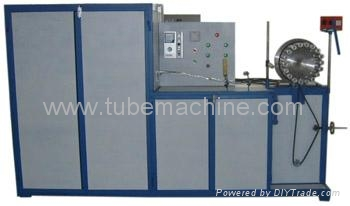 Aluminum Foil wire round Flexible duct machine 2