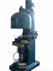 Thick iron plate seaming machine