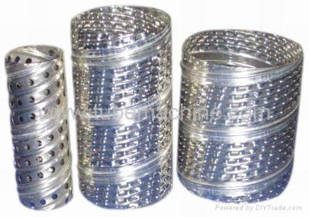 spiral filter core making machine 2