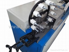 Automatic spiral flexible aluminum foil duct machine