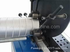 spiral flexible aluminum foil duct machine