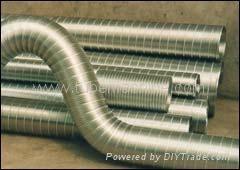 flexible aluminum foil pipe machine