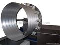 flexible aluminum foil duct making machine