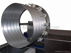 flexible aluminum foil duct making machine