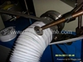Aluminum Foil wire round Flexible duct machine 1