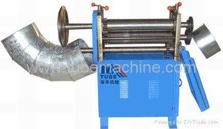 Multi roller bending elbow maker 1