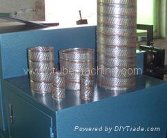 Automatic Spiral filter core making machine 1