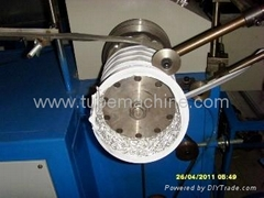 with steel wire reinforcement of aluminum foil duct machine ATM-600A