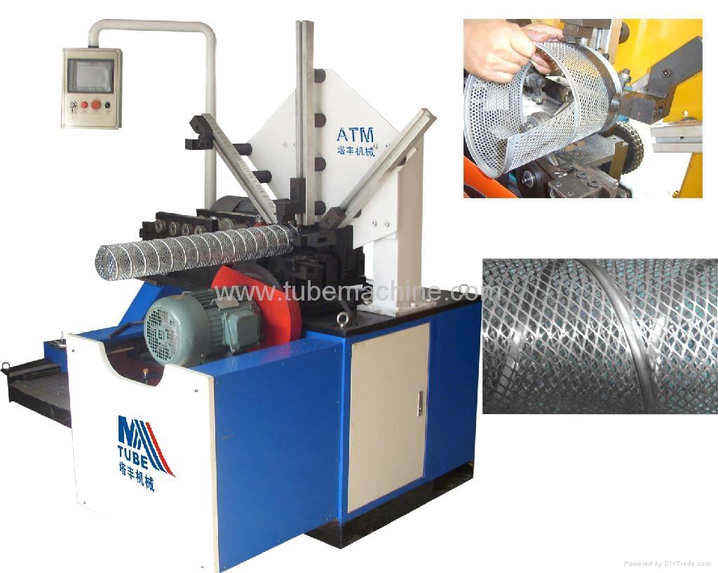 Spiral Filter Core Tube Making Machine Atm 500 Atm Mtube