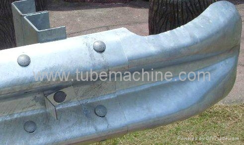 Traffic Guard Rail Fish Tail Hydraulic Press Machine