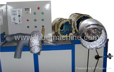 insulation with wire Flexible duct machine ATM-600