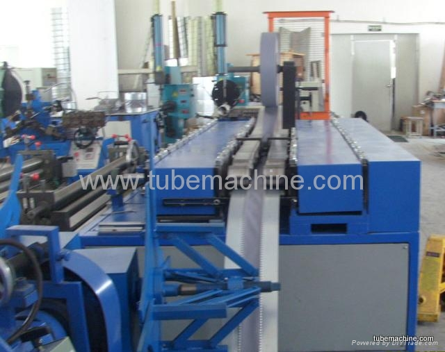 Flexible duct connector machine 3