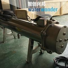 中压紫外线杀菌器去除自来水中的有害物质