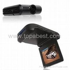 New Car Black Box with 2.5'' Folded TFT LCD Monitor TA01
