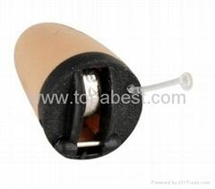 Mini Invisible Earphone Hidden Deep Inside Ear Earpiece Wireless Headphone