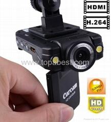 K2000 Full HD 1080P Car dvr 1240*960 Dashboard Vehicle H.264 500MP Car black box