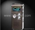 New 4GB 650Hr Digital Voice Recorder