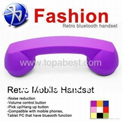 Retro Wireless Bluetooth Mobile handset Rubber Paint