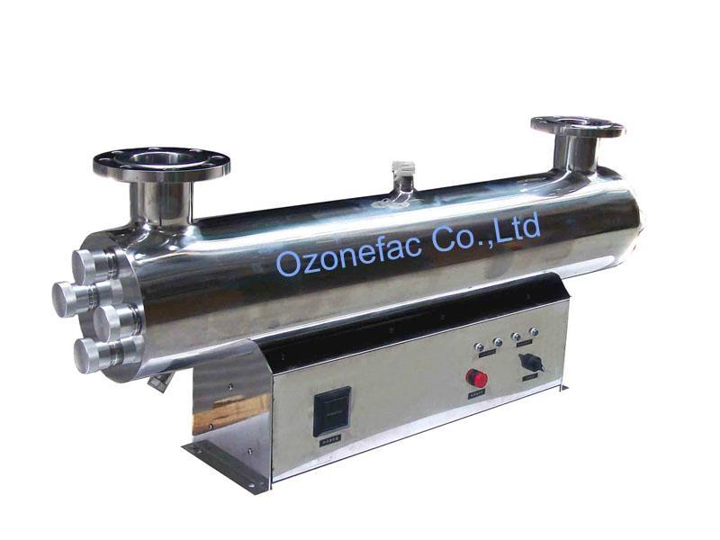 40T/Hr UV Water Sterilizer for Fish Farming Water Treatment