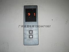 日立電梯不繡鋼外呼面板