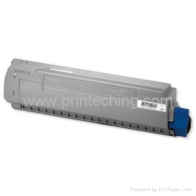 OKI C810/830 Compatible Black Cyan Yellow Magenta Toner Cartridge 1