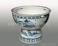 陶瓷大鱼缸 2