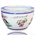 陶瓷大鱼缸 3