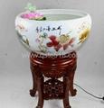 陶瓷大鱼缸 4