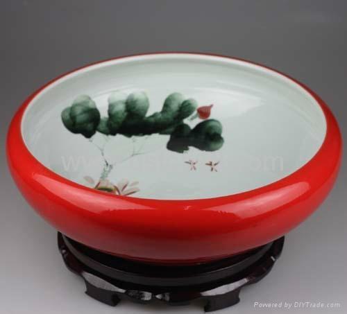 陶瓷大鱼缸 5