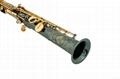 Professional Bb Soprano Saxophone Black