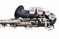 NEW Professional Eb Saxophone Matte Black Sax High F# Abalone Shell Key 5