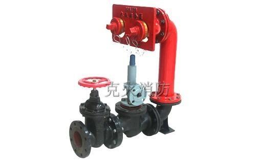 牆壁式水泵接合器SQB100-C型 1