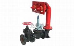 牆壁式水泵接合器SQB100-C型