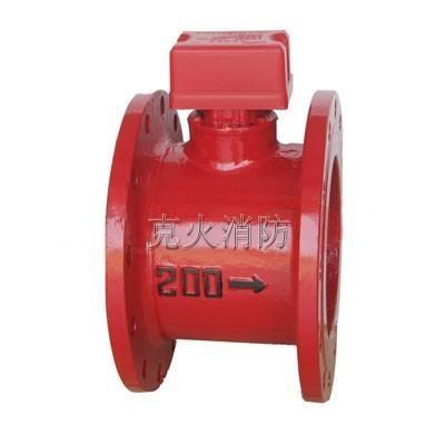 法蘭式ZSJZ水流指示器 1