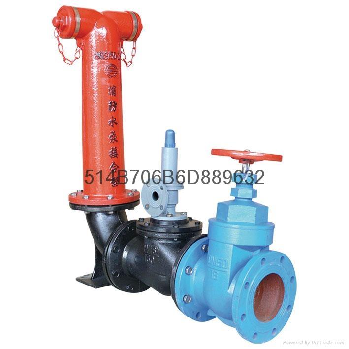 SQS100地上式水泵接合器 4