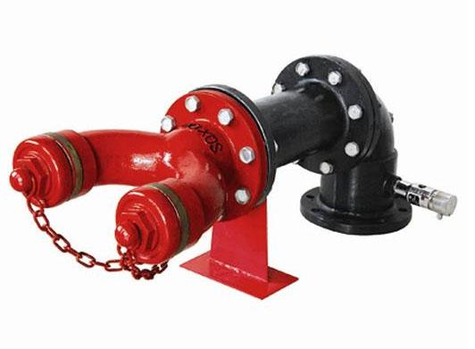 牆壁式水泵接合器SQB100-C型 2