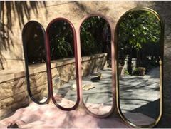 Stainless steel frame mirror