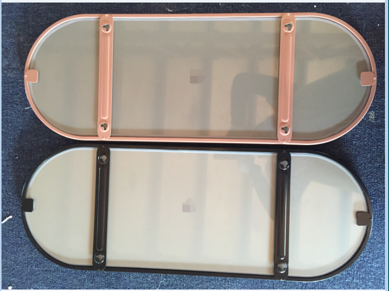 Stainless steel frame mirror 3