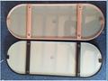 Stainless steel frame mirror 3