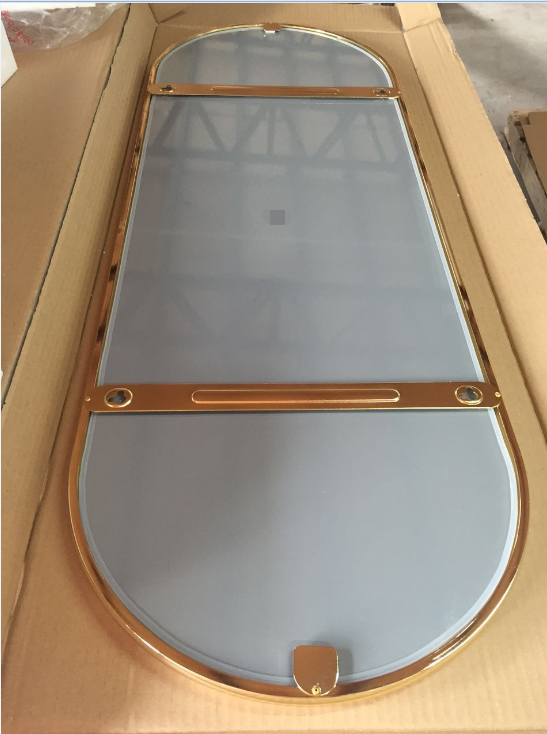 Stainless steel frame mirror 4