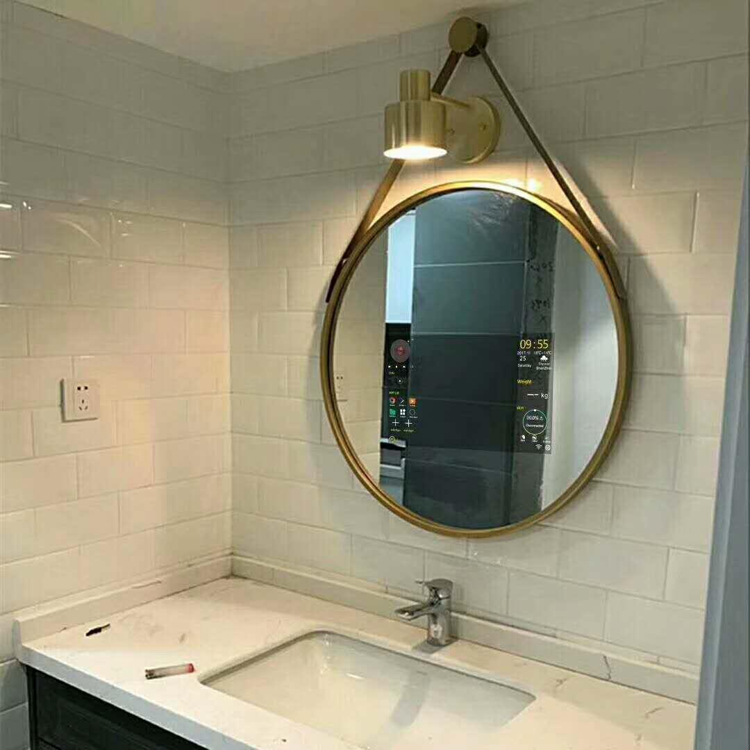 Hotel Bathroom Framless LED Backlit Mirror with Infrared Sensor 1