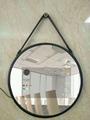 Hotel Bathroom Framless LED Backlit Mirror with Infrared Sensor 2