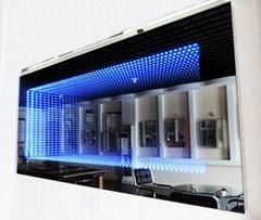 LED Infinity Mirror 3D illuminated