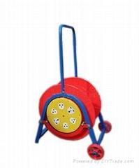 輪車式電纜盤