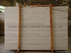 Chinese Wood Vein Marble/wood marble/white marble