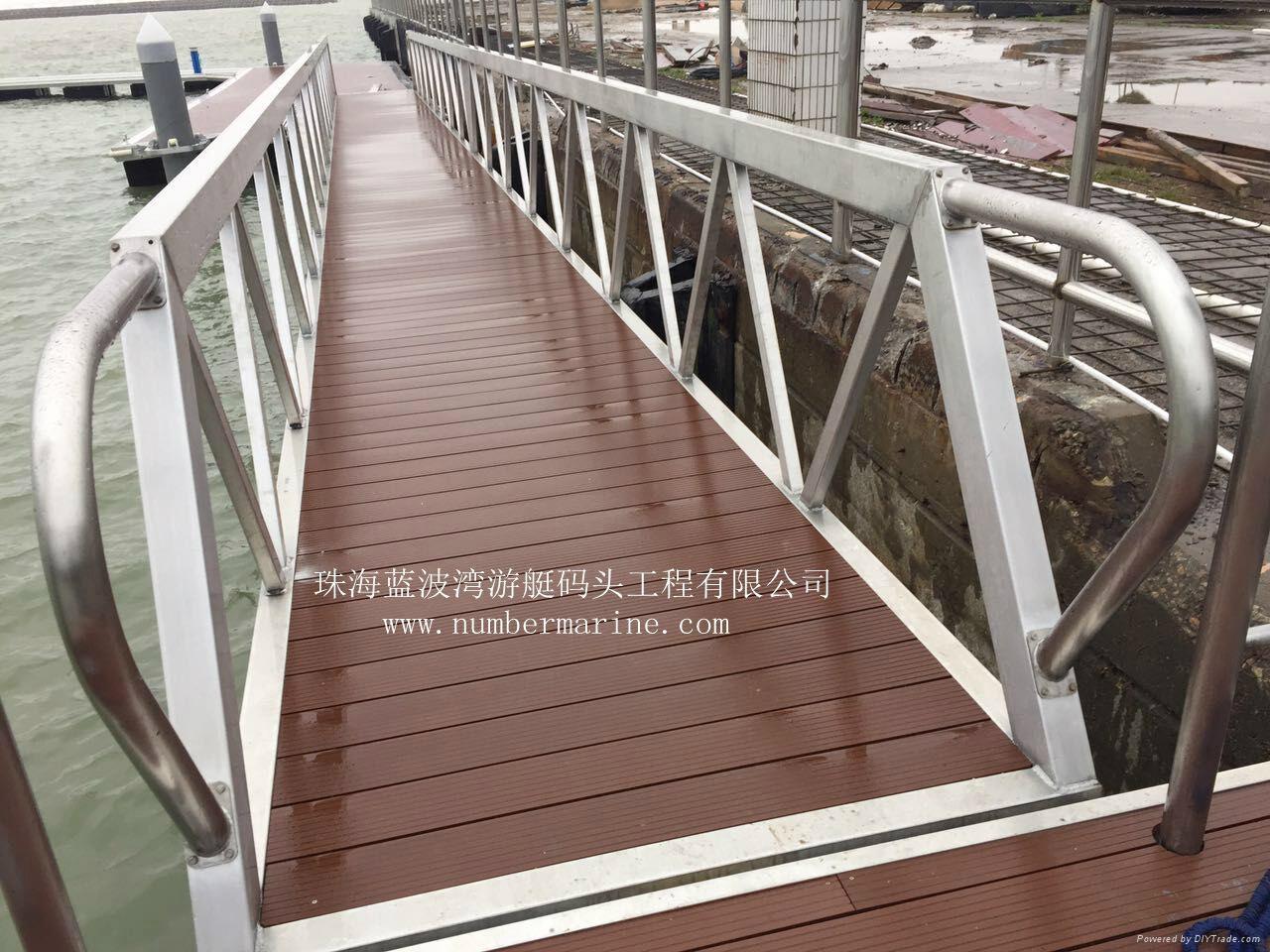 铝合金结构游艇码头 3